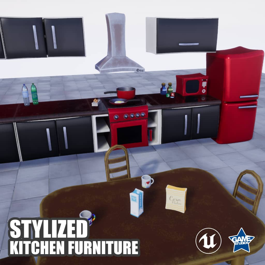 Stylized Kitchen Furniture