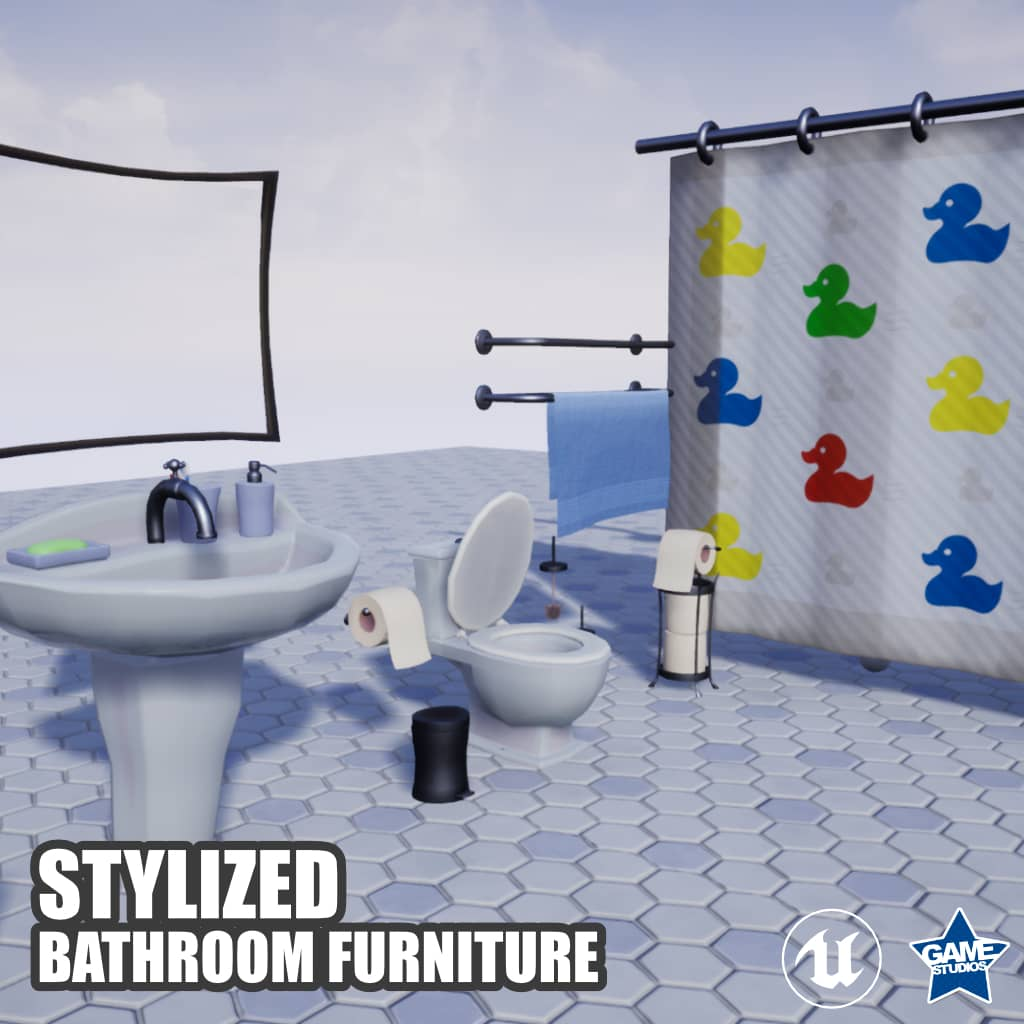 Stylized Bathroom Furniture