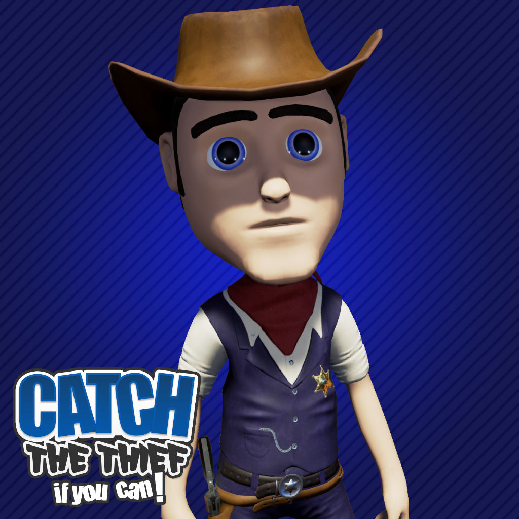 Jack Character - Catch the Thief, If you can!