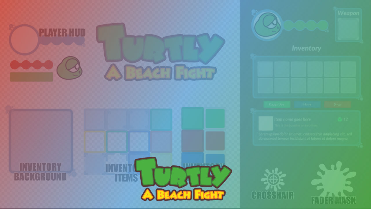 UI - Turtly - A Beach Fight