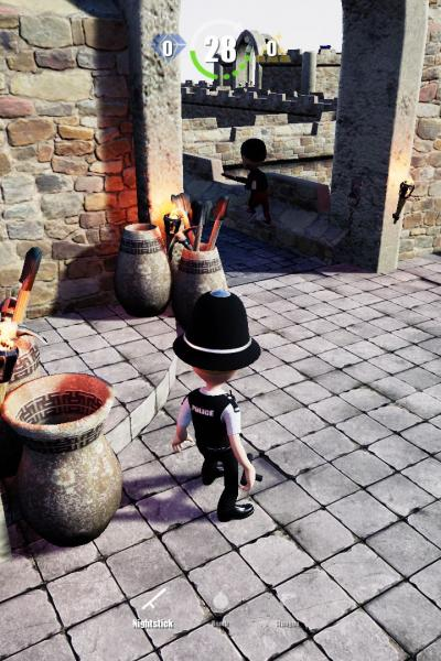 Medieval Level - Catch the Thief, If you can!